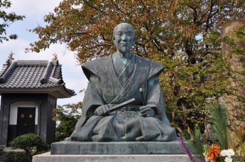 石田三成の銅像