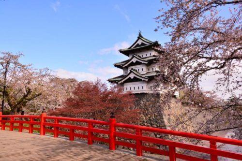 画像弘前城