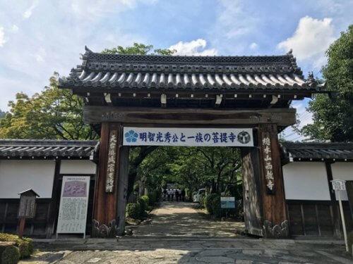 画像西教寺の総門