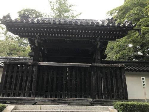 画像勅使門
