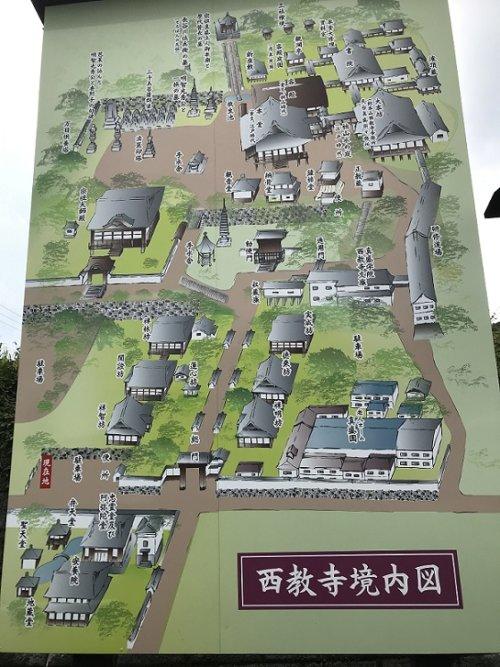 画像西教寺境内図