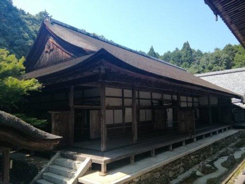 画像西教寺の客殿