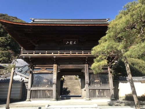 臨済寺の山門