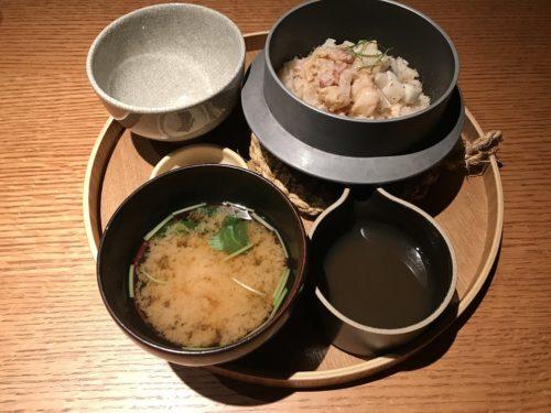 真鯛と小蕪の釜炊きごはん