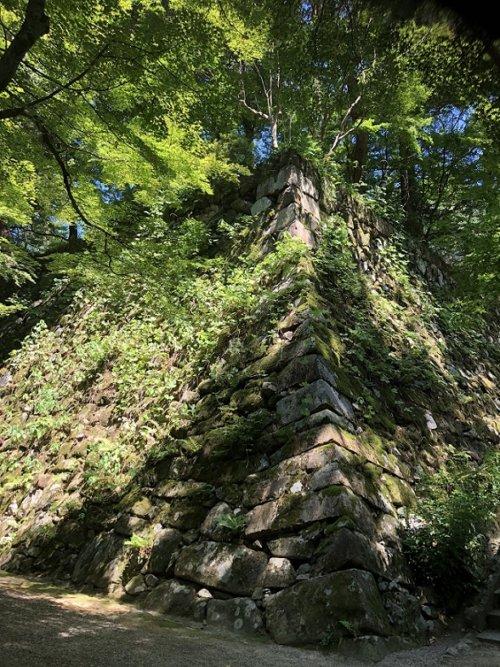 亀山城の石垣