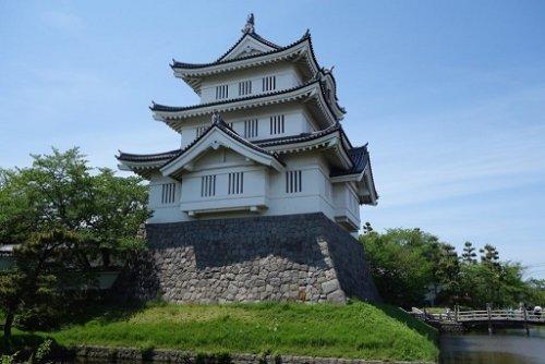 忍城の模擬御三階櫓