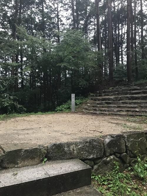 安土城の階段