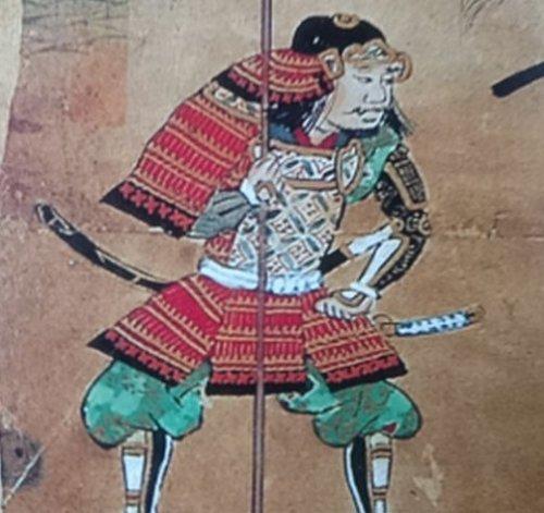 佐久間信盛の肖像画