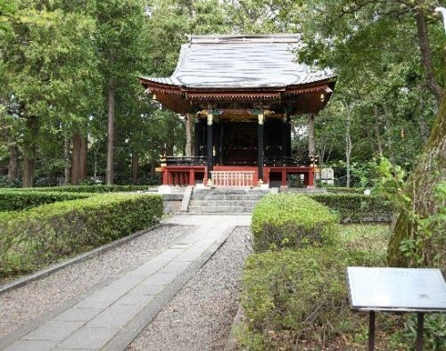 江戸東京たてもの園にある旧自証院霊屋