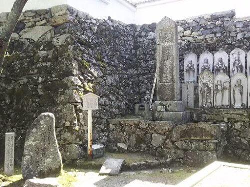 光秀の妻・煕子のお墓