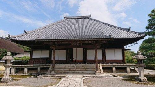 聖衆来迎寺の本堂