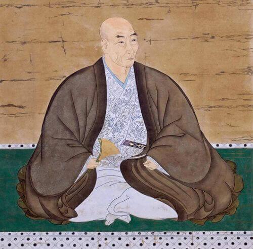 石田正継の肖像画