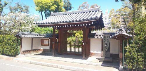 天王寺砦があった付近(月江寺周辺)