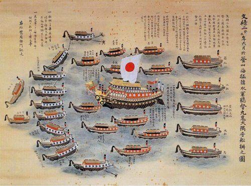 九鬼嘉隆の海軍艦隊