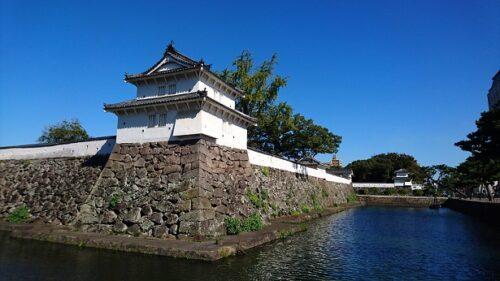 府内城の西丸二重櫓