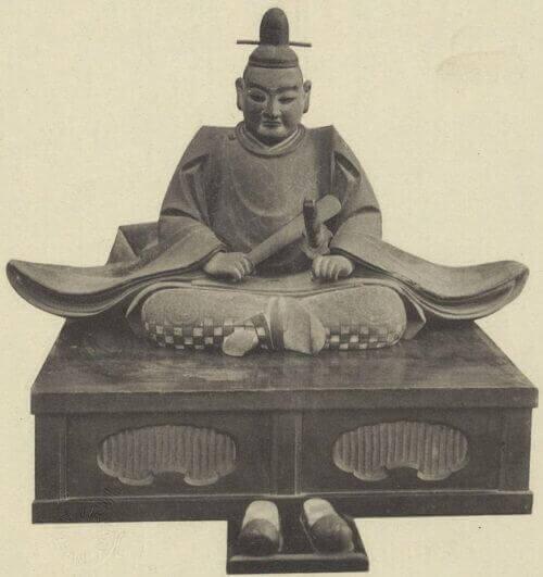 織田信秀木像(萬松寺所蔵)