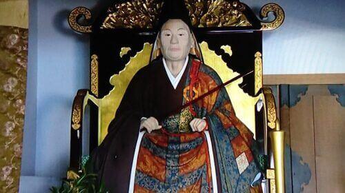 太原雪斎木像(臨済寺蔵)